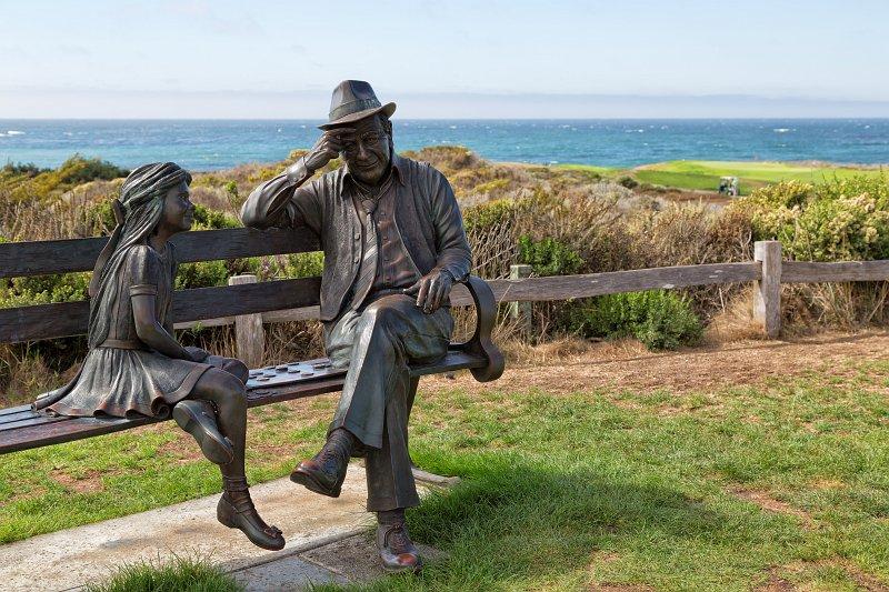 Sculpture At The Inn Spanish Bay Pebble Beach California
